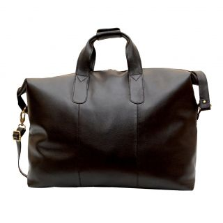 Kozmic Cognac NDM Leather Travel Duffle Bag Today $126.99