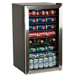 EdgeStar BWC120SS 33 bottle Stainless Steel Wine Refrigerator See