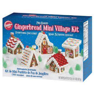 Wilton Gingerbread Mini Village Kit