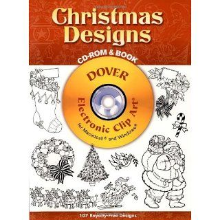Christmas Designs CD ROM and Book (Dover Electronic Clip Art) Dover