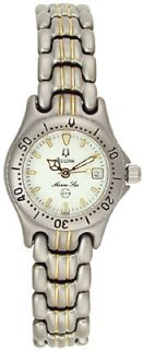 Bulova Marine Star Ladies 100M Titanium Watch