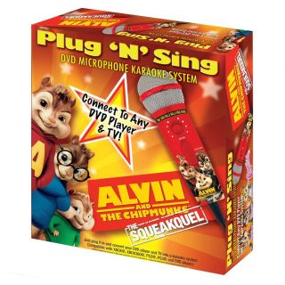 Emerson Alvin and the Chipmunks Plug and Sing DVD