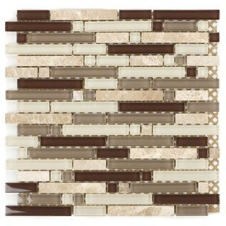 Mixed Marble Stone Tiles H 288 (Case of 11)