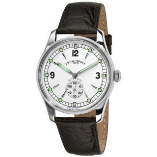 Revue Thommen Mens Sport 50s Silver Face Automatic Watch