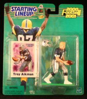 TROY AIKMAN / DALLAS COWBOYS 2000 2001 NFL Starting Lineup