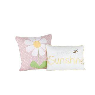 Big Believers Lazy Daisy Decorative Throw Pillows (Set of 2