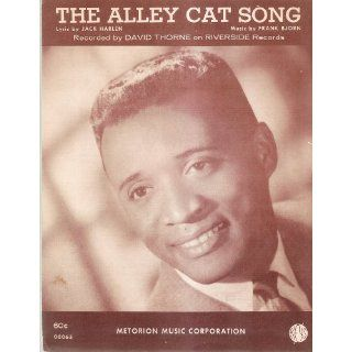 com Sheet Music The Alley Cat Song David Thorne 207
