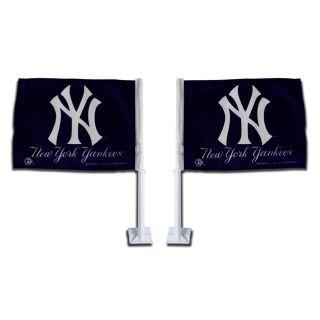 New York Yankees Car Flags (Set of 2)