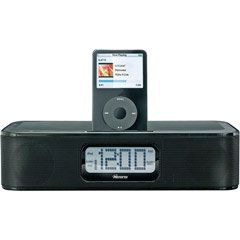 Memorex Mi4004BLK iWake Clock Radio for iPod (Black)