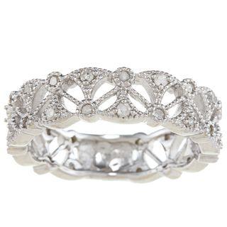Sterling Silver 1/2ct TDW Diamond Ring