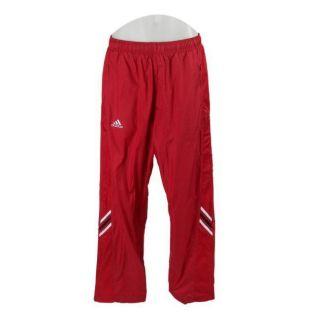 Adidas Mens Big Game ClimaLite Red Warm up Pants