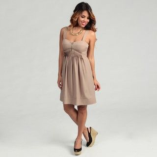 Jessica Simpson Womens Dune Zipper Front Dress FINAL SALE