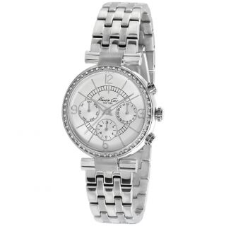 Kenneth Cole Womens KC4872 Silver Stainless Steel Quartz Watch with