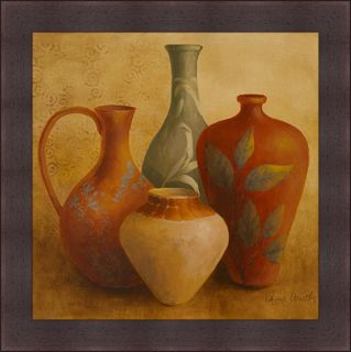 Lanie Loreth Decorative Vessel Still Life II Framed Print Art