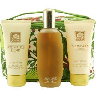 Clinique Aromatics Elixir Womens Four piece Fragrance Set