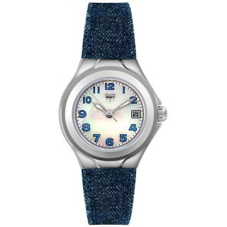 TechnoMarine Womens Lady Sport Blue Denim Watch