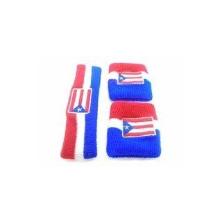 Puerto Rico Wrist & Head Band