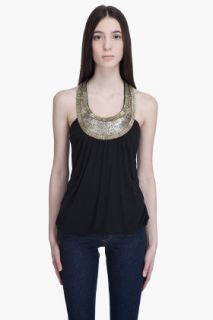 Haute Hippie Bullion Necklace Tank for women