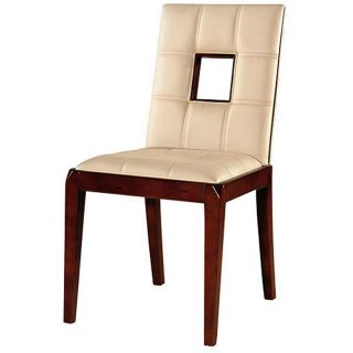 Chloe Leather Dining Chairs (Set of 2)