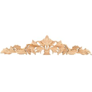 Hand carved Solid Hardwood Grape Leaf Applique Today $37.50   $86.50