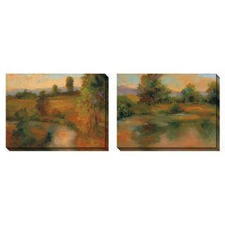 Caroline Ashton Incandescence Oversized Canvas Art Set Today $234