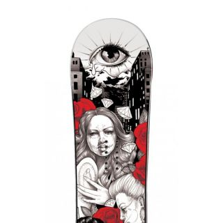 Chicana Love   Descriptif Un snowboard Impérium haut de gammeLa