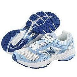 New Balance W755 White/Blue