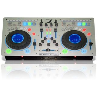 DMXS1 Technical Pro Professional Double CD 2CH Mixer