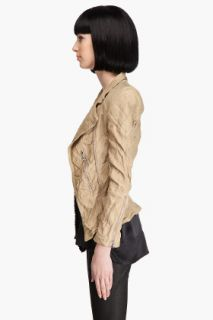 Marc Jacobs Cutaway Leather Jacket for women
