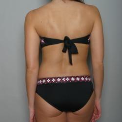 Anne Cole Womens 2 piece Bandeau Hipster Bikini