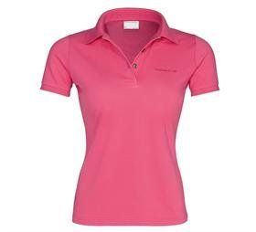 Genuine Porsche Womens Polo Shirt   Pink   U.S. Size Large