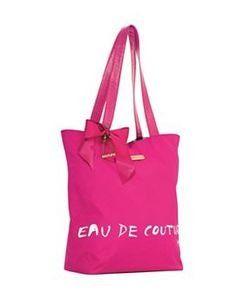 Juicy Couture Pink Fragrance Tote Bag Purse Eau De Couture