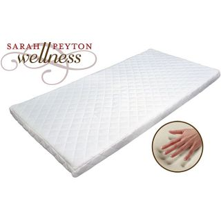 Sarah Peyton 3 inch Memory Foam Quilted Topper