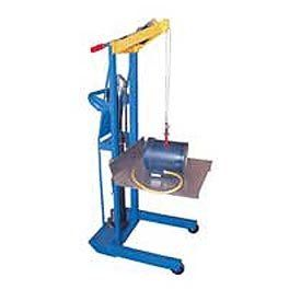 Optional Hand Crank Winch And Hook Option For Hydra Cart