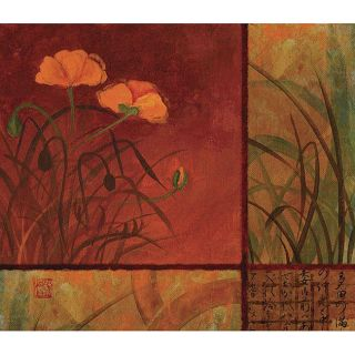 Studio Voltaire Poppy Autumn I Gallery wrapped Canvas Art