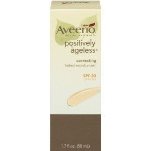 Aveeno Positively Ageless Correcting Tinted Moisturizer