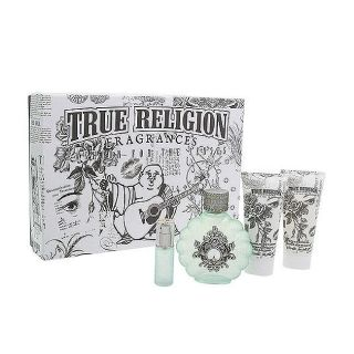 True Religion Purple Haze Womens 4 piece Gift Set