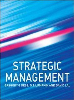 Strategic Management (9780073346229) Gregory G. Dess, G
