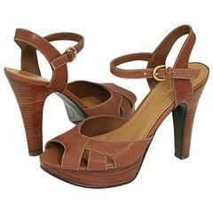 Nine West Eki Light Brown Leather Sandals