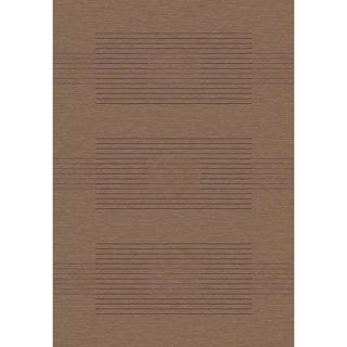 Velvet Brown Stripe Rug (311 x 57)