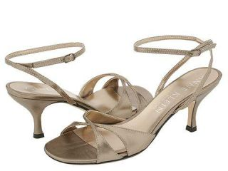 Anne Klein New York Copley Champagne Metallic Nappa