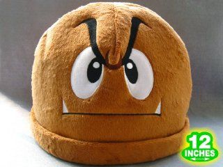 Mario Bro Goomba Mushroom Costume Hat Toys & Games