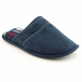 Izod Mens Backless Slippers Navy Blue Slippers