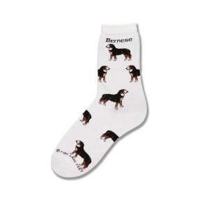 For Bare Feet Bernese Mountain Dog Poses Socks Clothing