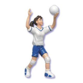 Girl Volleyball Player Cake Topper Decoration Everything