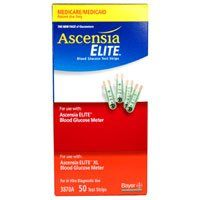Ascensia Elite Diabetic Test Strips #3870 by Bayer (Blood