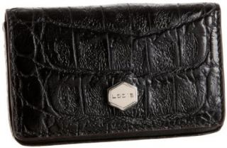 Womens LODIS Cayman 217CY NER15 Mini Card Case,Nero,One Size Shoes