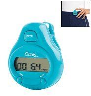 Curves Step and Distance Pedometer By Avon Sports