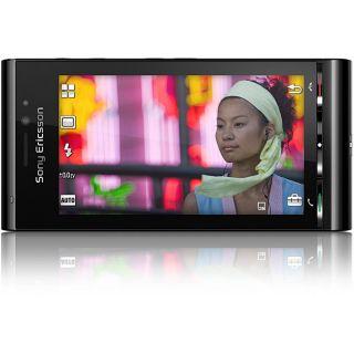 Sony Ericsson Aino U10 Black GSM Unlocked Cell Phone