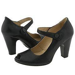 Born Chantilly Black Leather